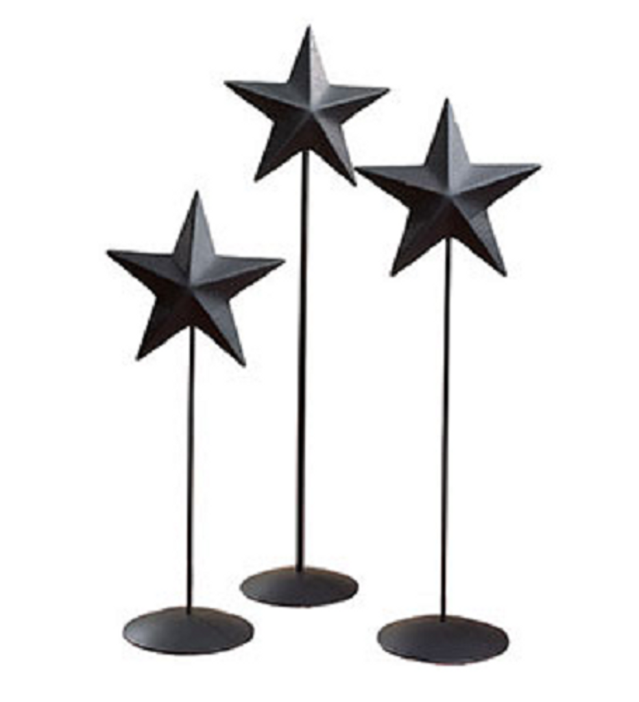 Black Barn Star Pedestal