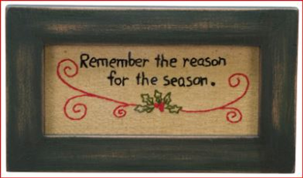 Reason For The Season Stitchery