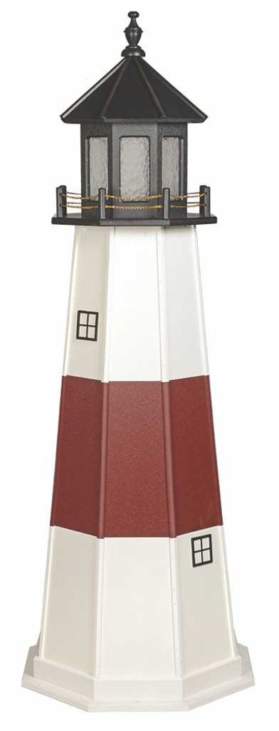 Amish Crafted Poly Lighthouse - Montauk