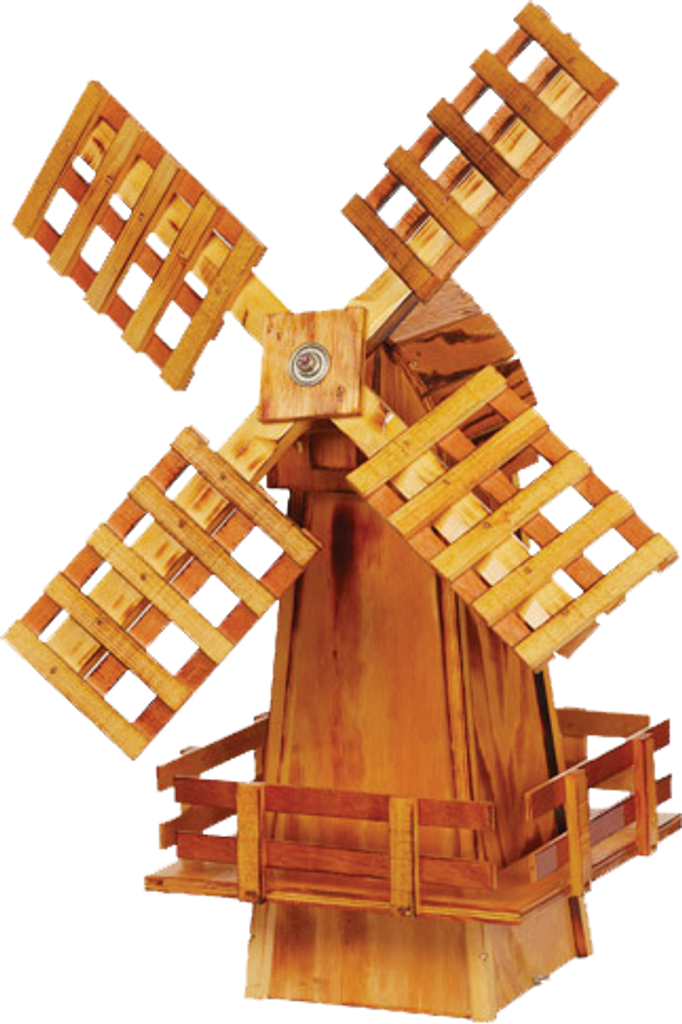 Amish Crafted Wooden Windmill