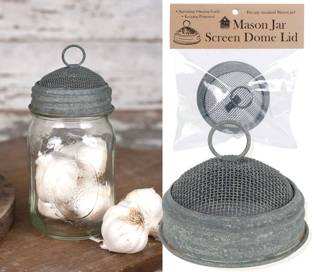 Mason Jar Screen Dome Lid