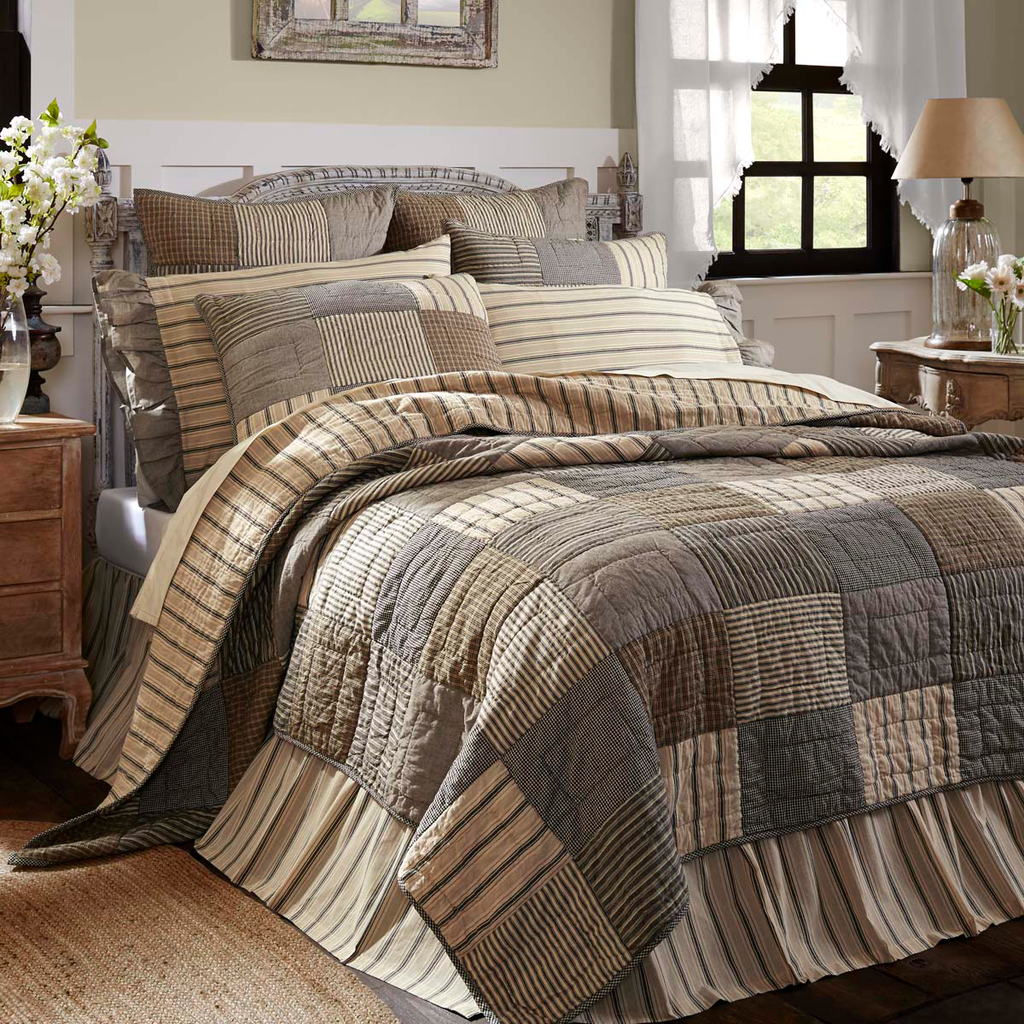 Sawyer Mill Charcoal Bedding Collection -  VHC Brands