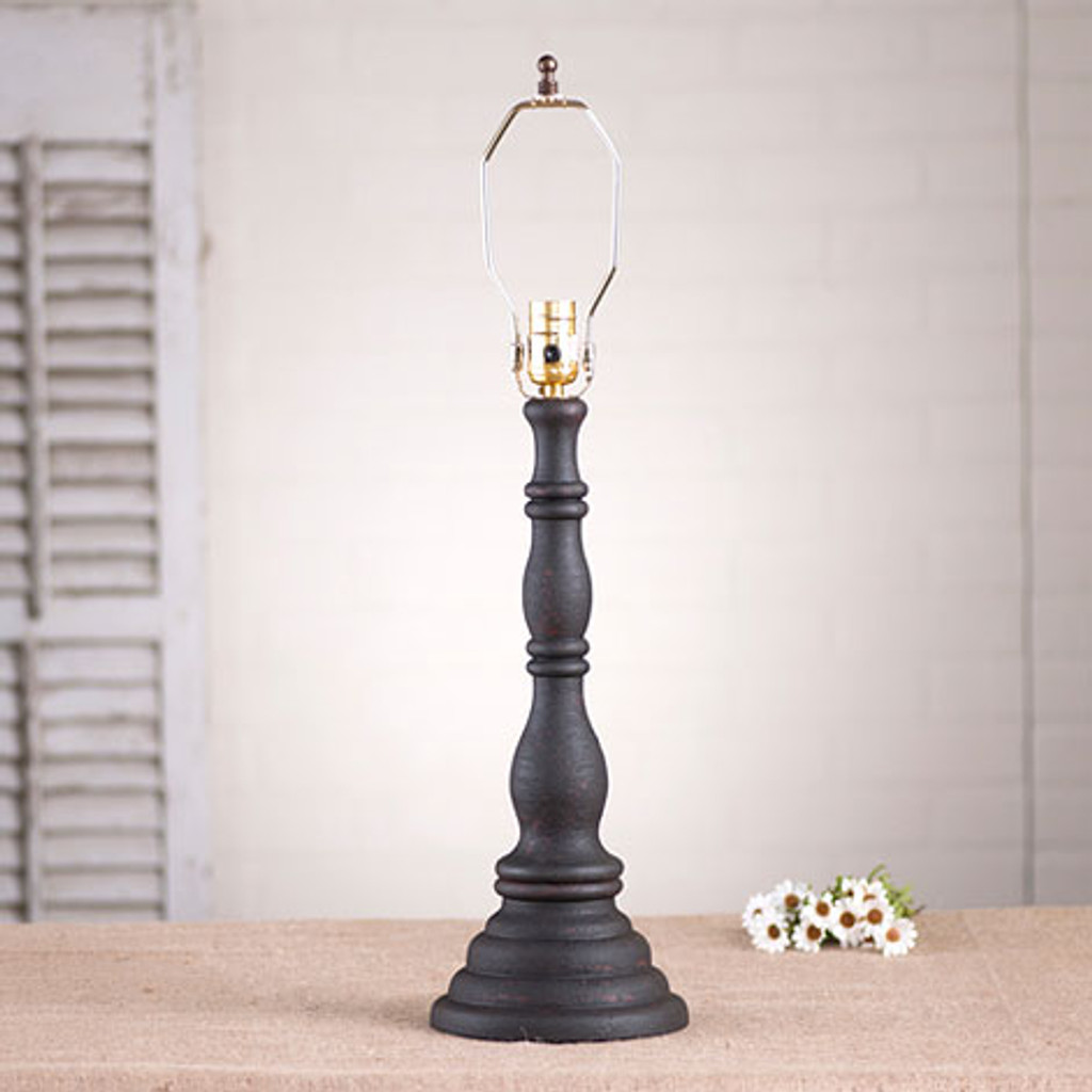 Irvin's Davenport Lamp In Hartford Black