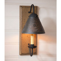Irvin's Crestwood Wall Sconce Finished In Americana Pearwood