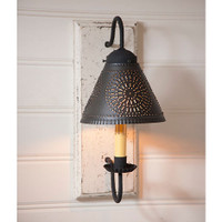 Irvin's Crestwood Wall Sconce Finished In Americana Vintage White