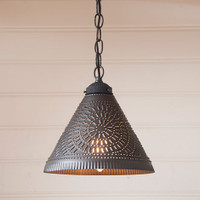 Irvin's Wellington Shade Light Finished In Kettle Black