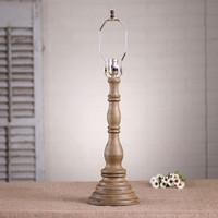 Irvin's Davenport Lamp In Americana Pearwood