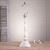 Irvin's Davenport Lamp In Americana Vintage White