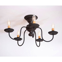 Irvin's Thorndale Ceiling Light In Americana Black