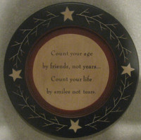 Plate - Count Your Age
