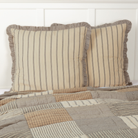 Sawyer Mill Charcoal Collection Euro Sham by VHC Brands