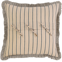 Sawyer Mill Charcoal Collection Euro Sham by VHC Brands - Back