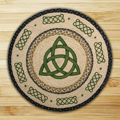 Earth Rugs™ Oval Patch Rug - Irish Knot - RP-116