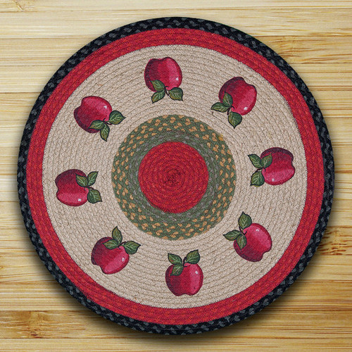 Earth Rugs™ Oval Patch Rug - Apple - RP-238