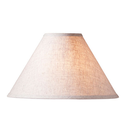 Irvin's Tinware Ivory Linen Lamp Shade