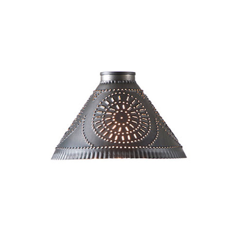 Irvin's Replacement Medium Barrington Chandelier Shade Finished In Kettle Black