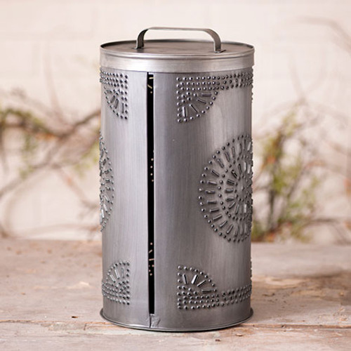 Irvin's Tinware Paper Towel Holder Finished In Antique Tin