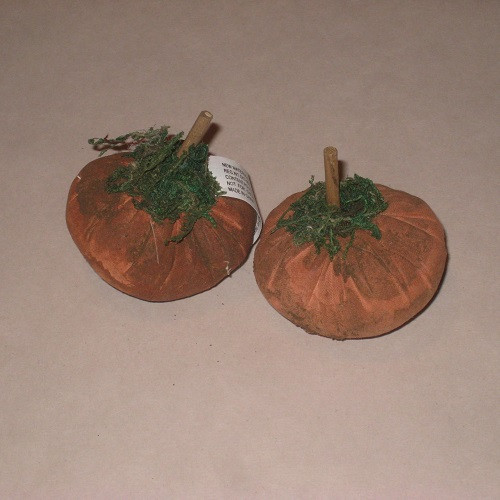 Small Fabric Pumpkins