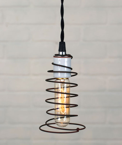 Bed Spring Pendant Lamp