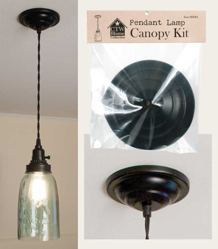 Pendant Lamp Canopy Kit