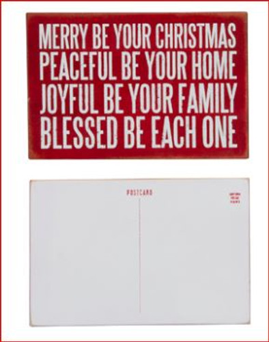 Merry Be Your Christmas Postcard