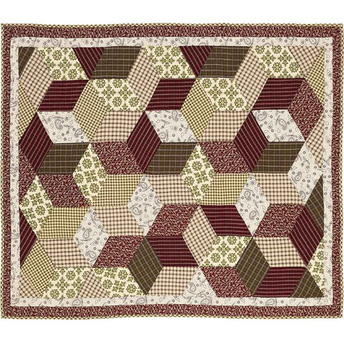 Calistoga Quilted Throw