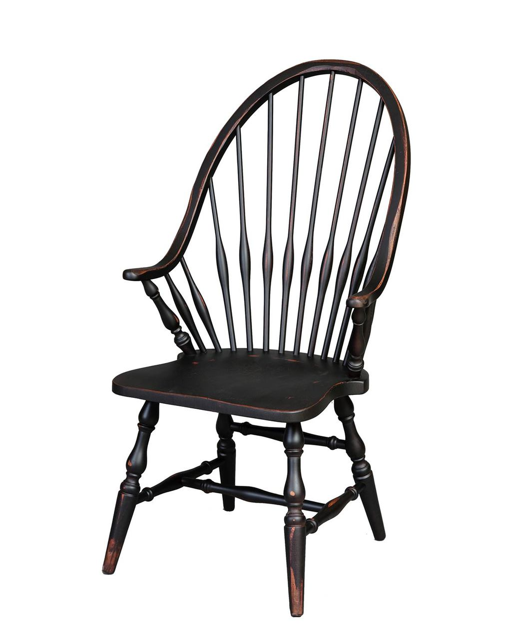 sc 1 st  CountryLivingPrimitives.com & Amish Handcrafted - Windsor Arm Chair - Vintage Creations By Sam