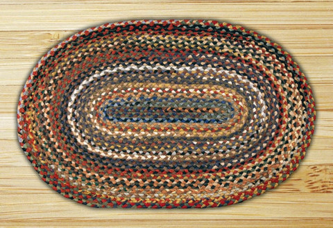 bedding country oval rugs primitive braided decor pin rug ihf