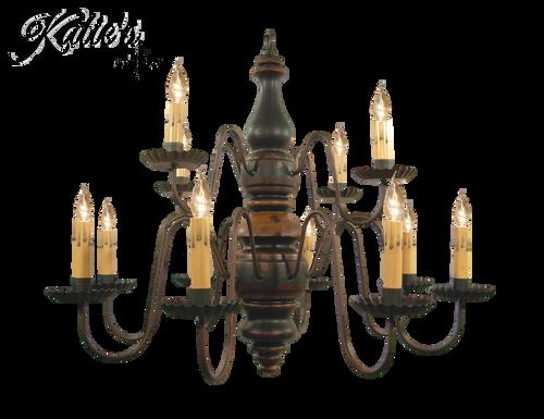 Katies Handcrafted Lighting Charleston Chandelier