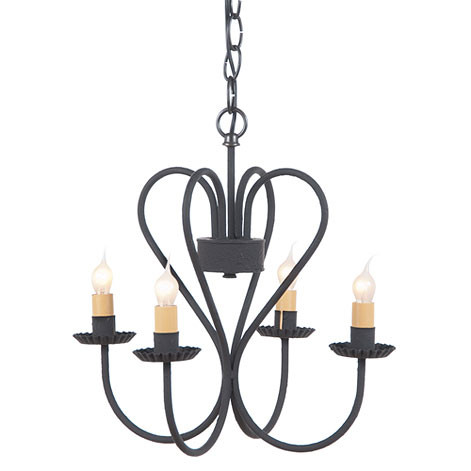 Irvins tinware small georgetown chandelier metal chandeliers click here to enlarge aloadofball Images
