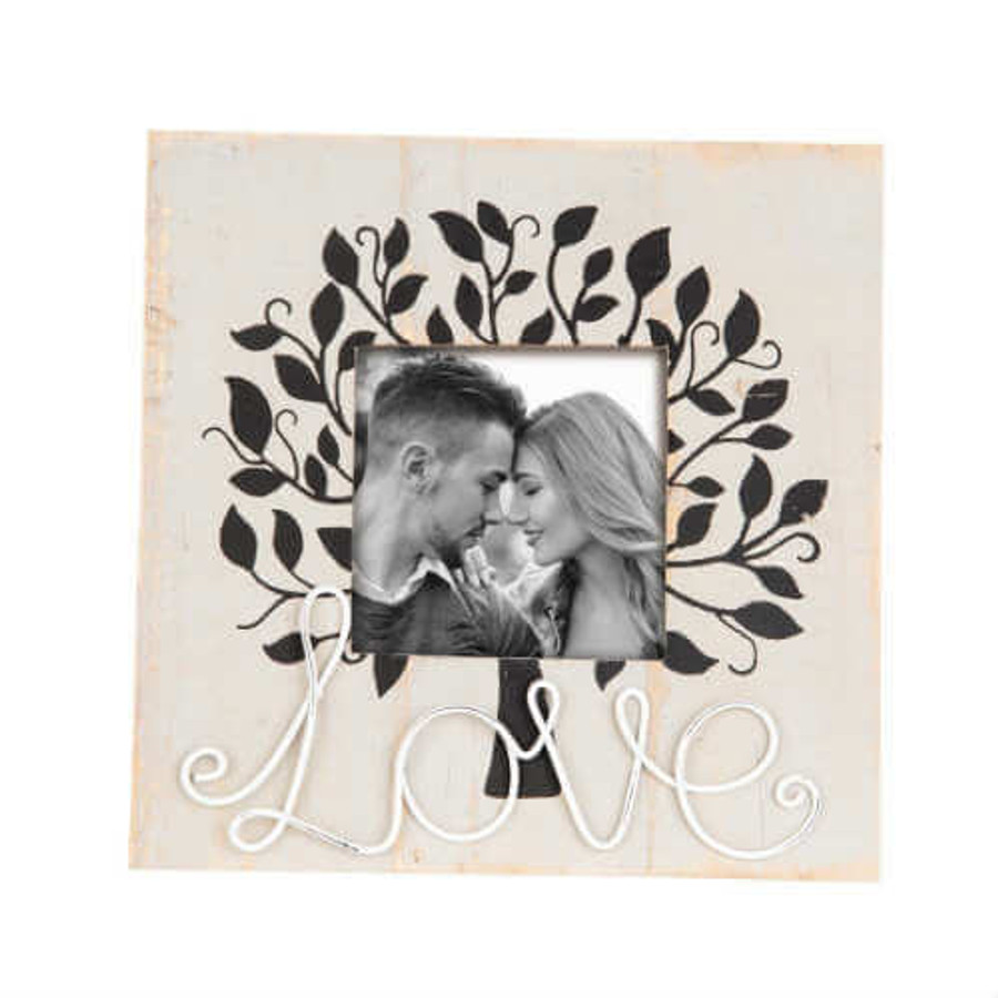 Foreside Home and Garden Tree of Love Photo Frame