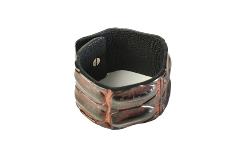 Backed Wrist Cuff - Tan