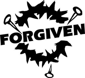 Forgiven Decal