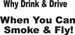 Why Drink & Drive Decal