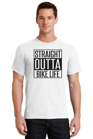 Straight Outta Bike Life T Shirt
