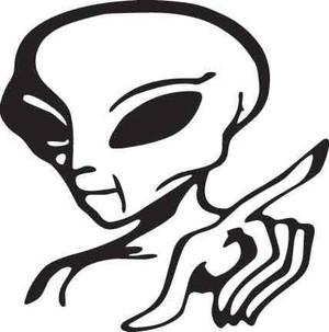 Alien Decal 1