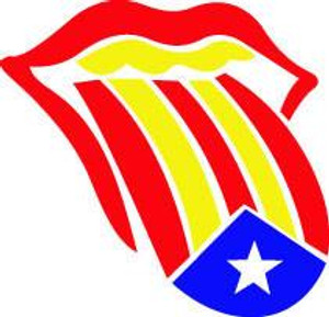 Flag Mouth Decal