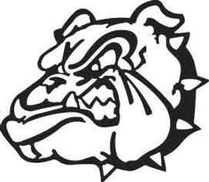 Bull Dog Decal 1
