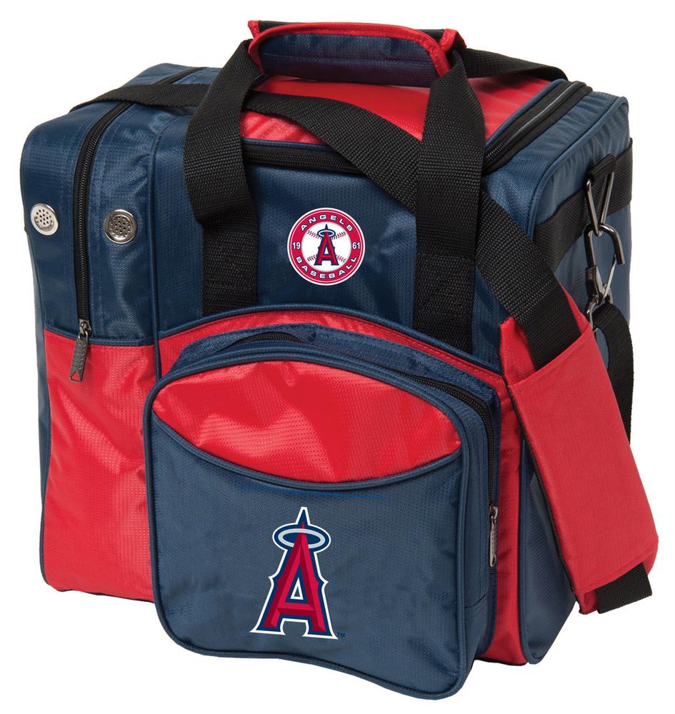 MLB 1 Ball Single Tote Bowling Bag LA Angels