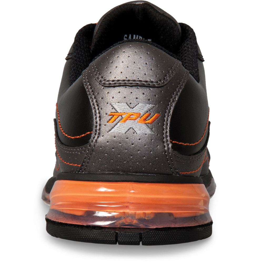 Hammer Force Mens Performance Bowling Shoes Black Carbon Orange Left Hand