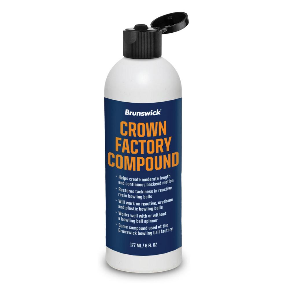 Brunswick Crown Factory Compound 6oz Bottle