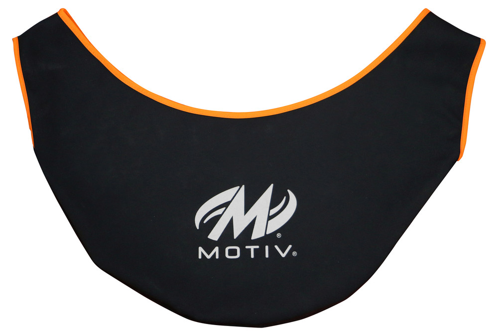 Motiv Premium See Saw. Black with orange trim, Motiv logo.