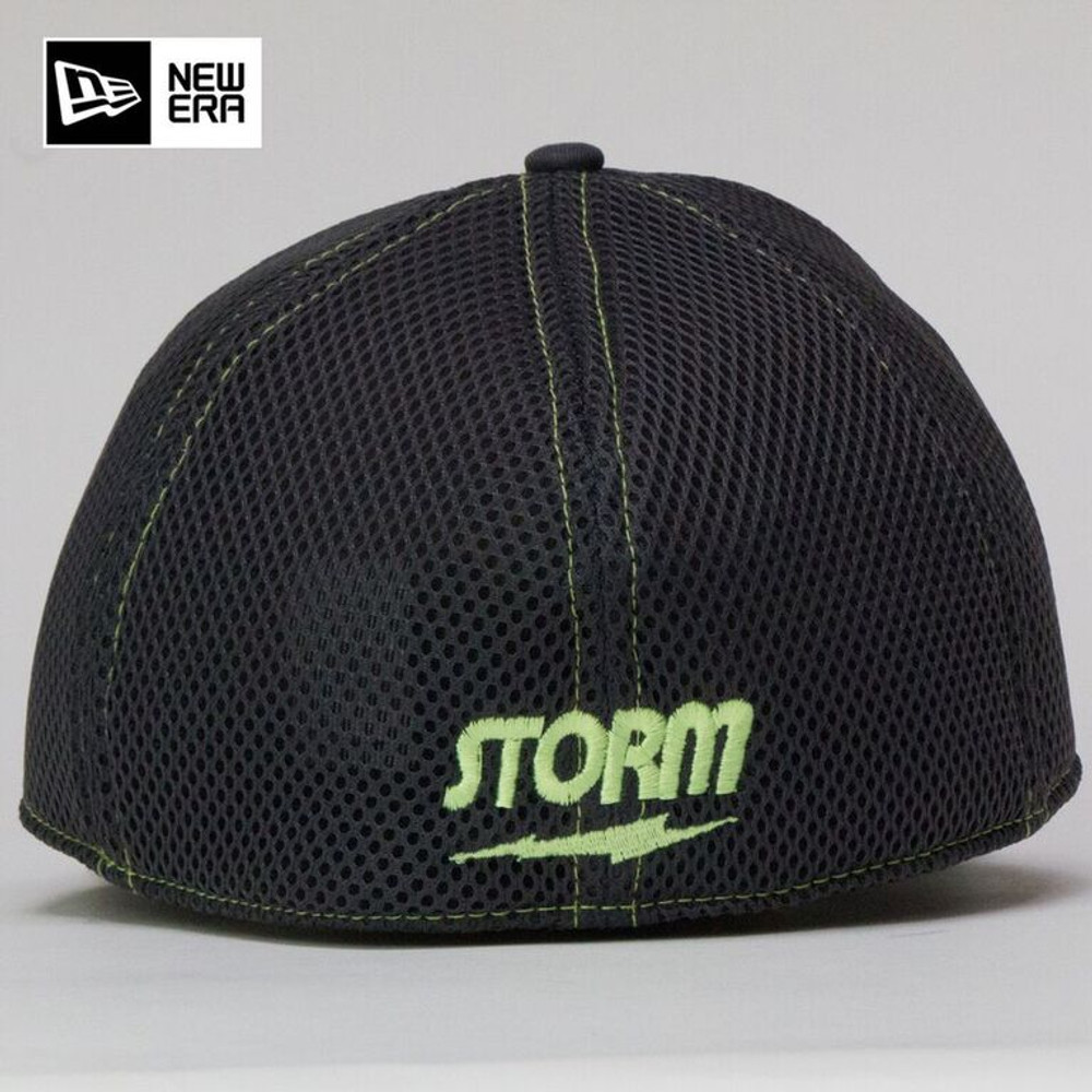 Storm Bolt Hat Gray/Lime