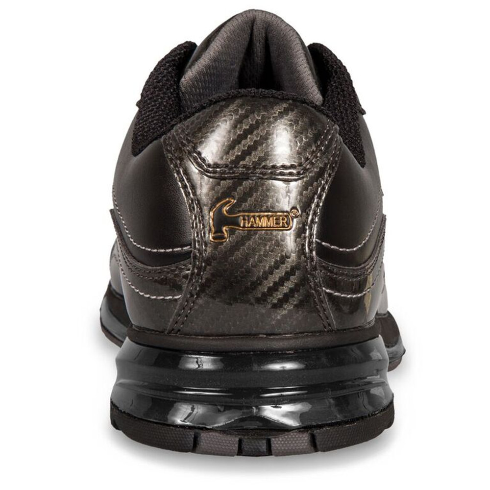 Hammer Force Mens Performance Bowling Shoes Black Carbon Left Hand