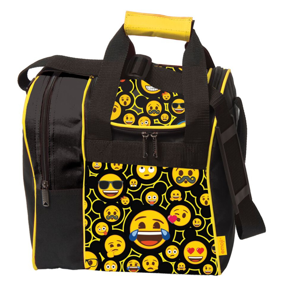 KR Emoji Single Tote 1 Ball Bowling Bag