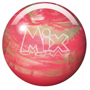 Storm Mix Pearl Bowling Ball Pink White