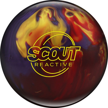 Columbia 300 Scout Bowling Ball Red Purple Gold