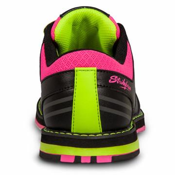 KR Strikeforce Quest Women's Bowling Shoes Black Pink Yellow