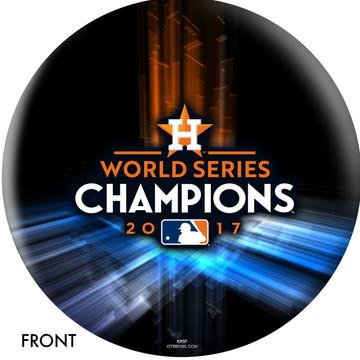 Houston Astros World Series Front View