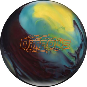 Columbia 300 Nitrous Bowling Ball Cherry Yellow Blue